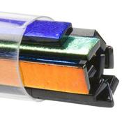 Black 6mm Wide Sizzlestix 90 COE Dichroic 16 in. long (12 per Tube)