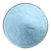 Glacier Blue Powder Frit 90 COE (1 Pound Jar)