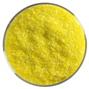 5 Pound Jar Canary Yellow Medium Frit 90 COE