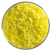 5 Pound Jar Canary Yellow Coarse Frit 90 COE