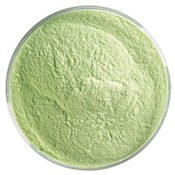 5 Pound Jar Spring Green Powder Frit 90 COE