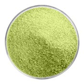 Avocado Green Opal Fine Frit 90 COE (1 Pound Jar)