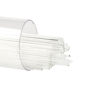 0.5mm Clear Cathedral 17-1/2 in. Stringer 90 COE (5 oz. tube)