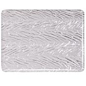 Clear Granite Herringbone Ripple Fusible 90 COE