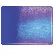 Deep Royal Blue Double Roll Rainbow Iridized Fusible 90 COE