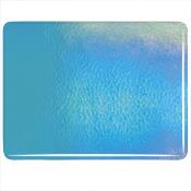 Turquoise Blue Double Roll Rainbow Iridized Fusible 90 COE
