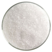 5 Pound Jar Crystal Clear Cathedral Medium Frit 90 COE