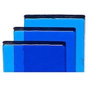 Billet - Sapphire Blue Tint Fusible 90 COE