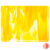 Clear / Yellow Opal Streaky Fusible 90 COE