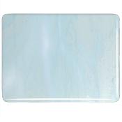 Aqua Blue Tint, White Double Roll Fusible 90 COE