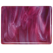 Cranberry Pink / White Opal Fusible 90 COE