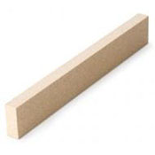 10 x 1.5 x .625 in. (254 x 38 x 16 mm) Dam (Damz) Suitable for tiles up to 9 in.