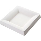 Square Plate Ceramic Slumper Mold - 6.3 in.