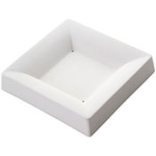 Square Plate Ceramic Slumper Mold - 5.3 in.