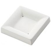 Square Plate Ceramic Slumper Mold - 3.3 in.