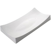 Long Rectangle Slump Ceramic Slumper Mold - 14.8 x 7.4 in.