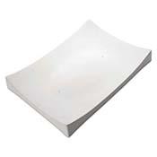 Large Rectangular Ceramic Slumper Mold - 16.5 x 11.9 in.