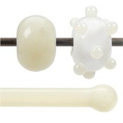 Cream Opal 90 COE Rod (sold per pound; 1/4 pound minimum)