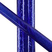 Blue Dichro over Cobalt Tube 33 COE (1/4 lb. minimum order)