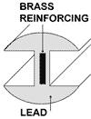 1/4 x 5/32 in. H-Round - Reforce