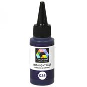 Midnight Blue Color Line Enamel Pen (Bullseye 008531)