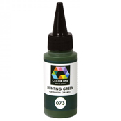 Hunting Green Color Line Enamel Pen (Bullseye 008569)