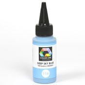 Deep Sky Blue Color Line Enamel Pen (Bullseye 008478)