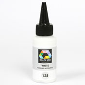 White Color Line Enamel Pen (Bullseye 008491)