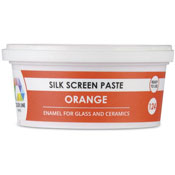Orange Color Line Silk Screen Paste (Bullseye 008486-PSTE)