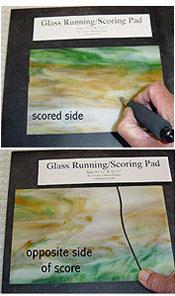 Running / Scoring Pad 11-3/4 in. Square