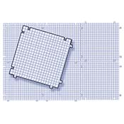 The Waffle Grid 6-Pack work surface (11-1/4 in. squares interconnect)