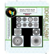 Radial Geo Mix Image Pack - 33 COE