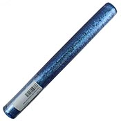 Aqua Blue Diamond on Cobalt - 13 in. tube sold by the pound