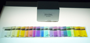 Thin Clear Color Sample Kit Spectrum System 96 19 pieces 1-1/2 x 3 in.