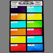 Primary Color Kit Clear 90 COE (2 in. x 4 in.)