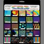 23 Piece Pattern Sample Set Black 90 COE (1-1/2 in. squares)