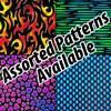 Borderline Pattern Dichroic on Black System 96® 4 x 4 in. Piece