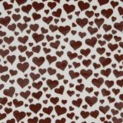 Hi-Fire Decal Magic Hearts Gold (4 in. Square)