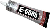 E-6000 Clear Adhesive (2 oz. w/applicator tip) ++