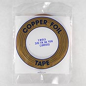 Copper Foil (3/8 in.) 1.25 mil - Edco