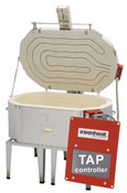 41W x 25-1/2L x 13D in. Evenheat Kiln w/Lid Lifter, TAP Touchscreen Controller, Window & Stand