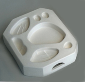 Owl Parts Mold - 6.25 x 5.5 in.