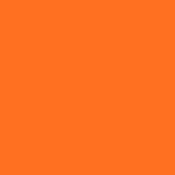 Transparent Enamel Florida Orange