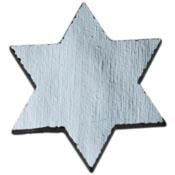 Star of David Black Dichroic 96 COE