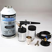 Badger Model 350-3 Airbrush Spray Gun Set++