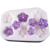 Blossom Glass Casting Mold - 5 x 6.875