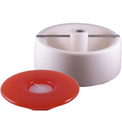 Candle Holder- Round 7.5 x 7.5 in.
