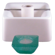 Candle Holder- Square - 5.5 x 5.5 in.