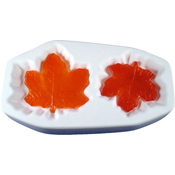 Maple Leaves with Slump Glass Casting Mold - 9.375 x 5.25 in.