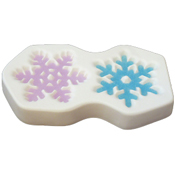 2014 Snowflake Mold - 8 x 4.5 in.